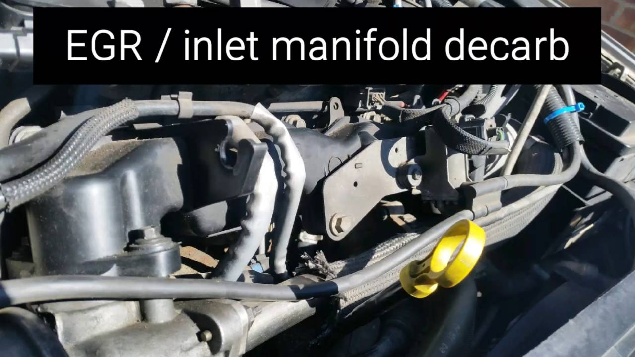 ford mondeo mk3 2 0 tdci egr inlet manifold cleaning. Black Bedroom Furniture Sets. Home Design Ideas