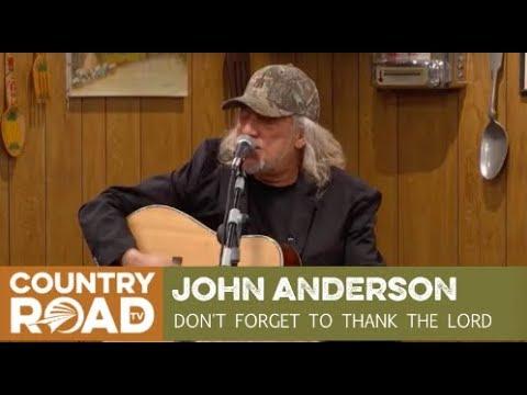 John Anderson sings
