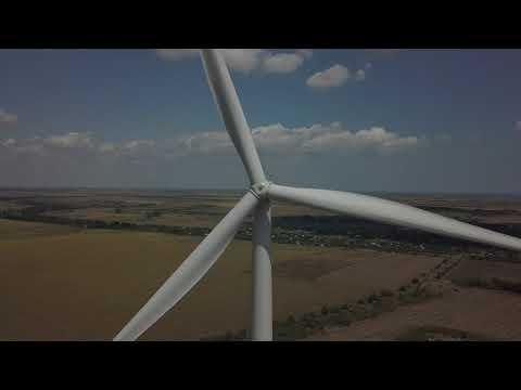 Гигантские ветряки в Одесской области