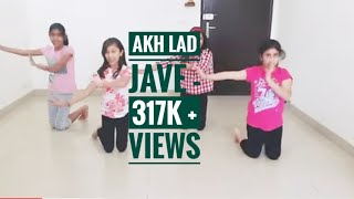 Akh Lad Jave Dance Choreography l Loveyatri l Girls Group l kids Easy Steps