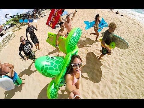 GoPro Moment - Sandy Beach Shorebreak