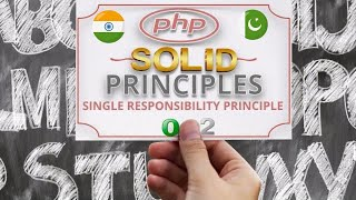 Part 02 Single Responsibility Principle of Solid Principles in OOP with PHP Examples in اردو / हिंदी