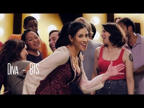 Diva Behind the Scenes - Sarah Silverman