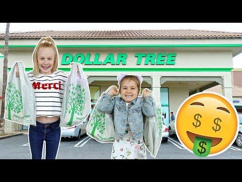 BRiTiSH KiDS DOLLAR TREE SHOPPiNG CHALLENGE! 💲