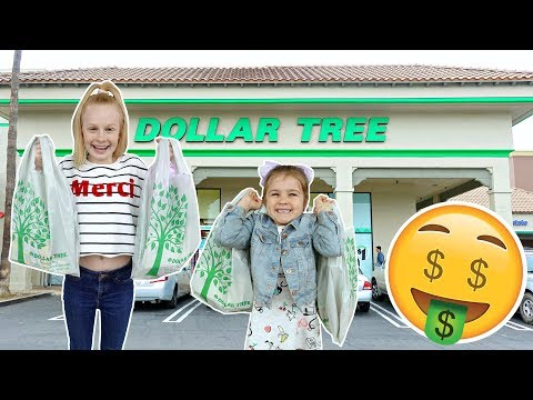 BRiTiSH KiDS DOLLAR TREE SHOPPiNG CHALLENGE! 💲