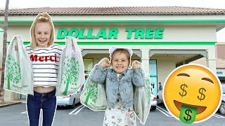 BRiTiSH KiDS DOLLAR TREE SHOPPiNG CHALLENGE!