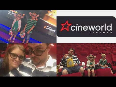 A FAMILY TRIP TO CINEWORLD! #AD