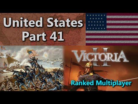 United States - Victoria II Ranked Multiplayer - Season 4: Game 1 - Part 41  