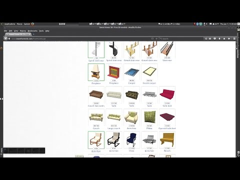 Sweet Home 3D – Importing 3D furniture models
