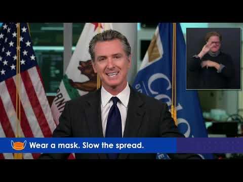 Governor Newsom California COVID-19 Update: December 15, 2020