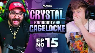 TWO CAGEMATCHES!!! | Pokemon Crystal Randomized Cagelocke Ep 15