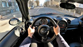 MINI Cooper Countryman ( 2016 ) 1.6 122hp - POV Test Drive & Fuel consumption check