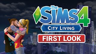 the sims 4 city living trailer first look