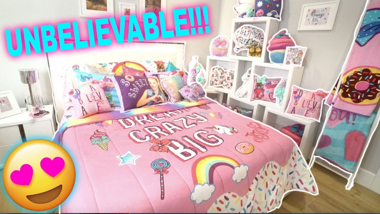 JOJO SIWA'S NEW ROOM TOUR!! **YOU MUST SEE THIS!** Video