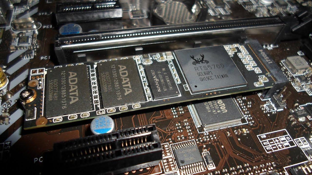 128GB ADATA XPG SX6000 M 2 2280 PCIe SSD im Test