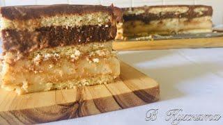 Торта С Бисквити И Три Вида Крем| Рецепта