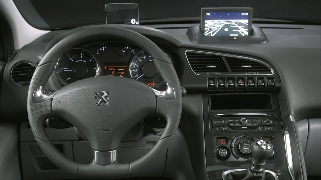 3008 Interieur 2014 Peugeot 3008 Interior Youtube