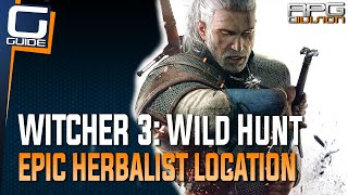 Witcher 3: The Wild Hunt - Epic Herbalist Location (Diagrams for most bombs and oils)