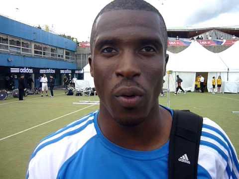 Crystal Palace Grand Prix 200m Jeffrey Lawal-Balogun