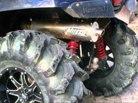 Muzzy Full Exhaust Brute Force 750