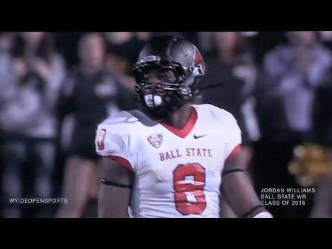 Jordan Williams #8 WR Junior Highlights Ball State Football