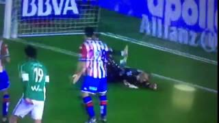 Video Gol Pertandingan Real Betis vs Sporting Gijon