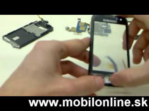 Výmena: LCD displej, dotykove sklo Samsung i8000 Omnia II , Samsung i8000 Omnia II Touchscreen