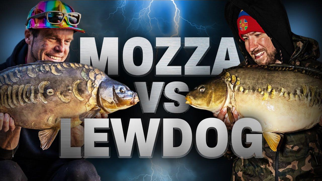 Mozza Vs LewDog | CARP FISHING
