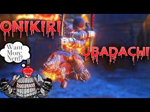 Dark Souls 3: Onikiri and Ubadachi + Blood Gem PvP - Still The Most Fun Katana!