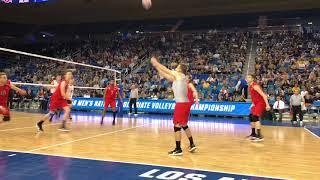 2018 NCAA MVB Tournament Semifinal: Ohio State vs LBSU Sets 3-4 (5/3/18)