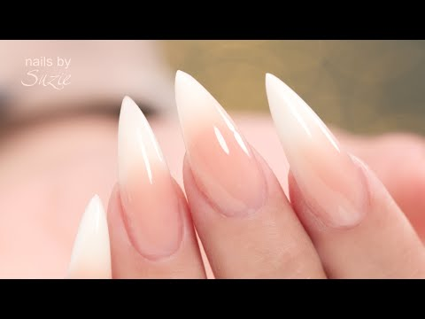 Hybrid Gel Baby Boomer/French Fade Nails