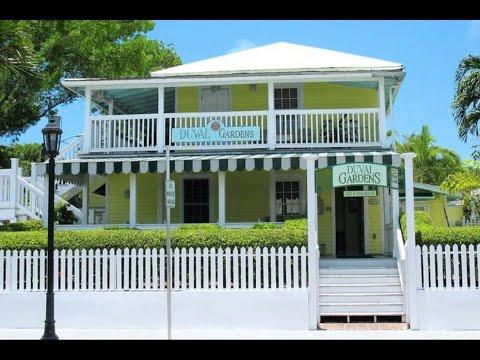 Duval Gardens Key West Hotels Florida YouTube
