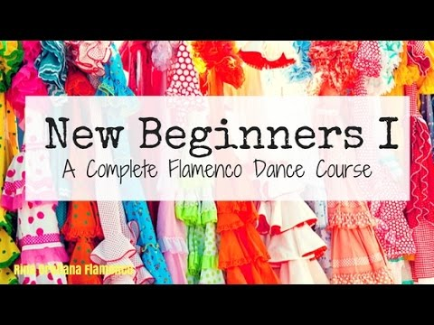 New Beginners Online Flamenco Dance Course trailer