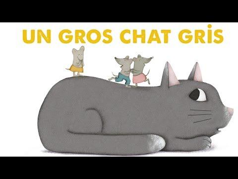 Steve Waring - UN GROS CHAT GRIS - Comptine Pour Enfants
