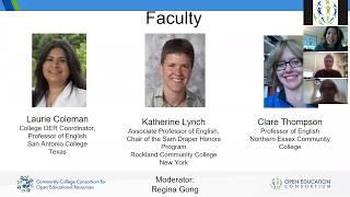 OE Week 2019 CCCOER Faculty Dialogues : English thumbnail