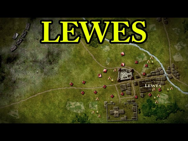 The Battle of Lewes 1264 AD