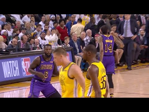 DJ Slab 1 - Lakers' Lance Stephenson Drops 11 Points in 11