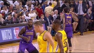 Lakers' Lance Stephenson Drops 11 Points in 11 Mins vs. Warriors, Breaks out Air Guitar