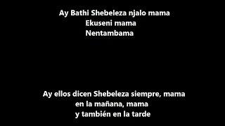 CONGO MAMA. NOMBRE REAL: SHEBELEZA (LETRA). JOE MAFELA.
