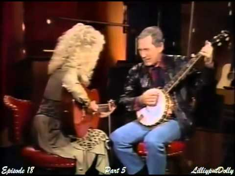 Dolly Parton  Chet Atkins - Black Smoke A Rising on Dolly Show 1987/88 (Ep 18, Pt5)
