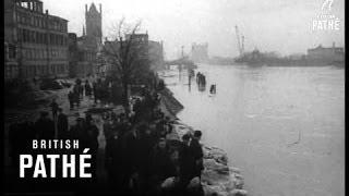Floods In Bremen - Germany (1947)