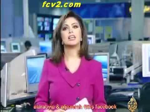 ايمان عياد مذيعة قناة الجزيرة تبكي على الهواء