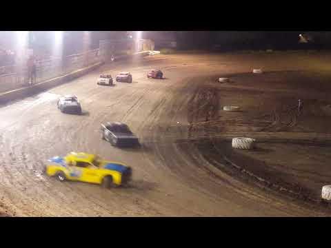 Factory Stock Heat Race Fall Classic @ Heart O' Texas Speedway 10/26/18