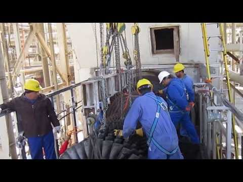 Remove rotor  FRAME 5002  -baghdad company-basrah site -sgc 2011