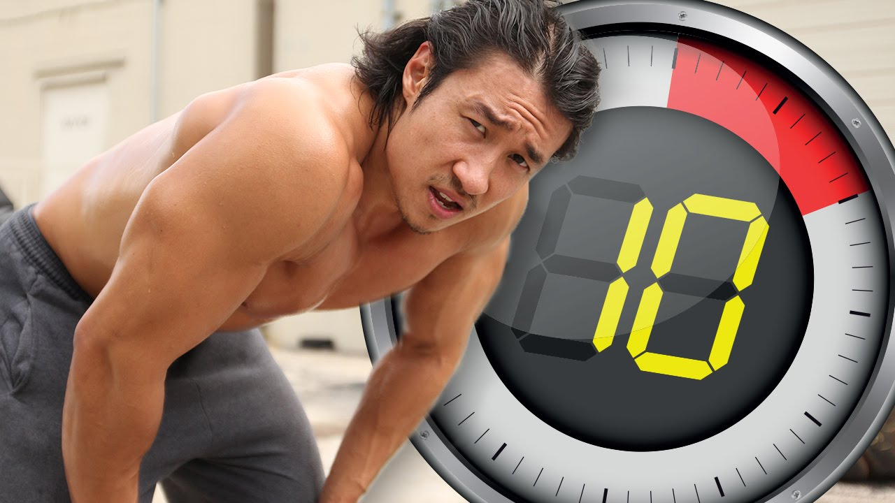Good Mike Chang Bench Press Part - 13: 10 Minute Workout Challenge -- Six Pack Shortcuts - YouTube