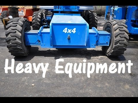 Heavy Equipment - Construction & Infrastructure