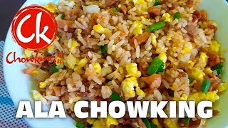 EASY CHAO FAN ALA CHOWKING |THE CHEAPEST | BUDGET FRIENDLY!!