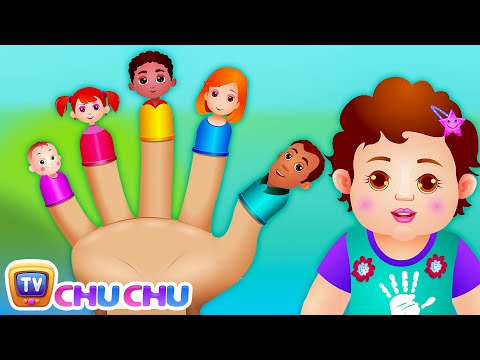 The Finger Family Song | ChuChu TV Nursery Rhymes & Songs Fo