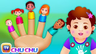 Gambar cover The Finger Family Song | ChuChu TV Nursery Rhymes & Songs For Children