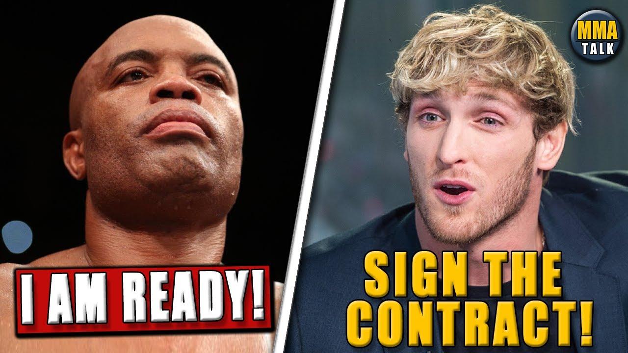 Anderson Silva vs. Logan Paul in the works, Bisping on Jake Paul's $100k gift, TJ Dillashaw, Usman